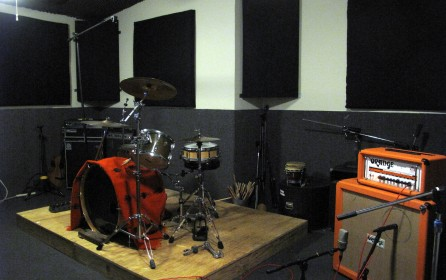 Rehearsal Studio Band and Drum Practice Space | ABC Rehearsal Studios | Silver Lake and Hollywood | Lawrence Media Interactive