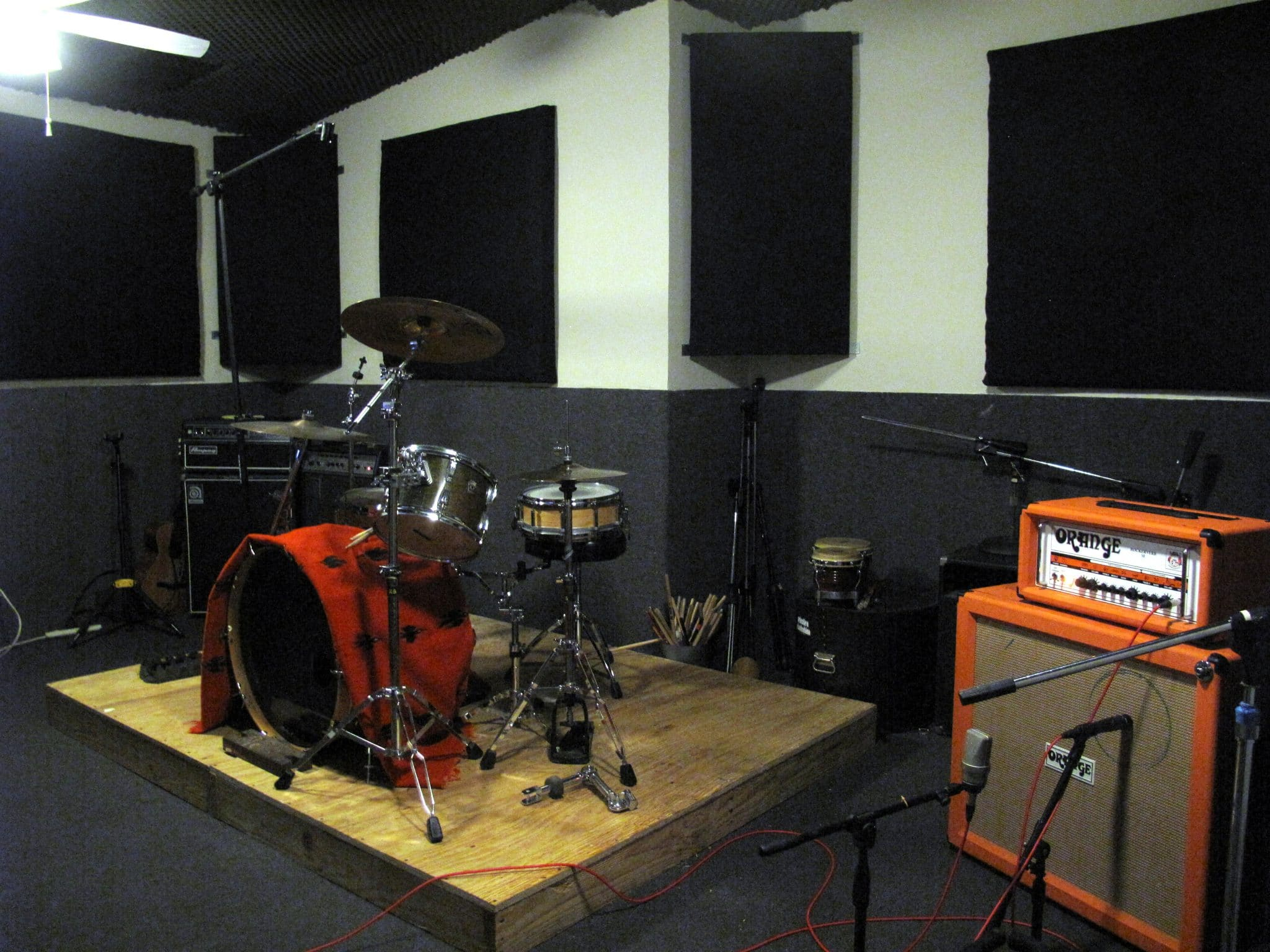 Where Is Drum Rehearsal And Band Practice Space In Los Angeles