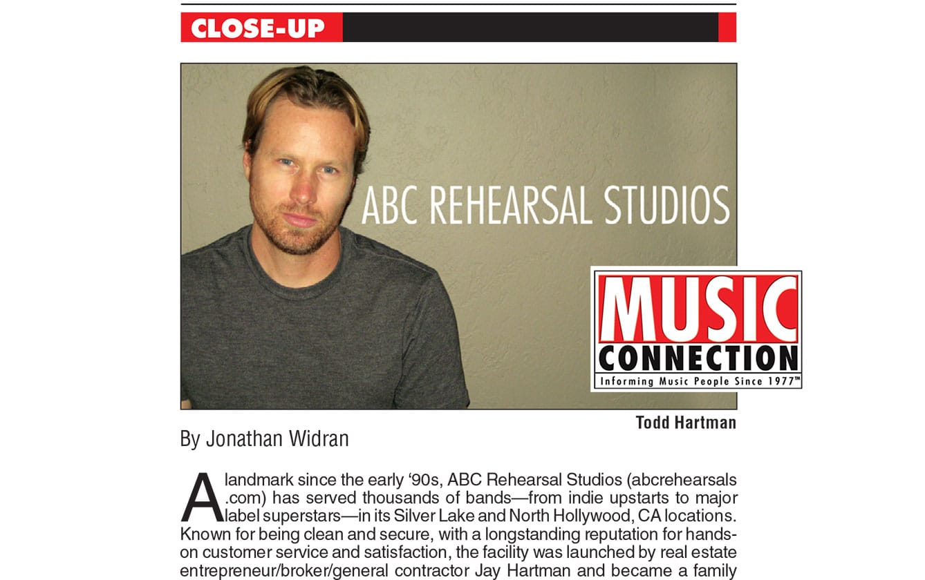 © ABC Rehearsal Studios | Silver Lake and Hollywood | Lawrence Media Interactive